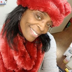 NEW Fur Hat and Scarf Set $70